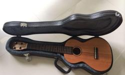 Ukelele (Tenor) with Hard Case For Sale!!! Condition: