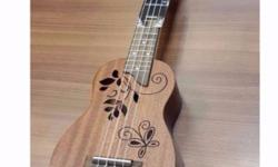 "Ukulele Sales!!! Unique 21"" Soprano Ukulele At $79 W"