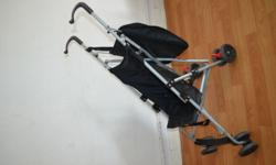 Good condition, light weight, with safety belts, foot