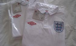 BRAND NEW. THIS IS AUTHENTIC England Home Shirt