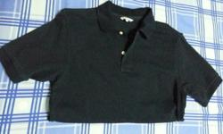 Uniqlo navy blue polo t-shirt for men Size M Condition