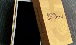 I have Unlocked Samsung Galaxy S5 White 32GB Brand new