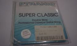 Unopened Pyramid Double Silver Professional Classical