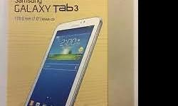 I have a unopened Samsung Galaxy Tab 3 Lite Wifi 8mb