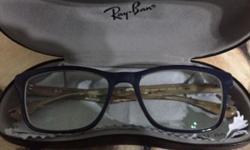 Rayban specs. Used about 3 to 5 times over the year .