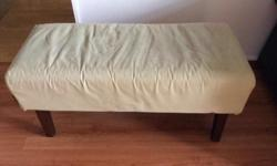 Still in Good Condition Picket & Rail York Bed Bench