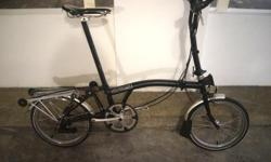 Brompton Package: S$2450 Upgraded ?All Black? Brompton