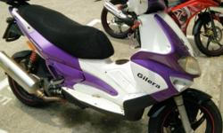 Gilera for sale @$3.5K(nego) COE till mid 2018 Have
