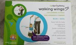UpSpring Baby Walking Wings - color : blue - still in