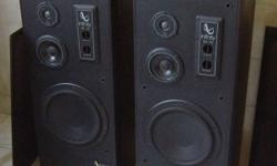 Infinity 3 way speaker system for sale. Made in USA.