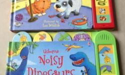 Selling Usborne Noisy Pets and Noisy Dinosaurs, bot in