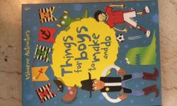 "Usborne - handicraft book for boys ""Things dor boys to"