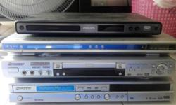 (use)DVD player for sale! i have 4 DVD player for