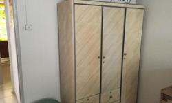 Nicely maintained Wardrobe for sale. All must go before