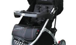 I am selling a black, Sweet Cherry 3 wheels stroller,