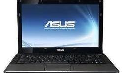 Used Asus X42J @ S$450 -> Core i7 - 740QM @ 1.73GHz ->