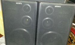 3 pcs. Used audio speakers.