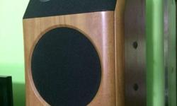 A pair of BM-100 Audio Image Speakers, Please contact