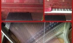 Used but well maintained Yamaha Rosewood C108 piano for