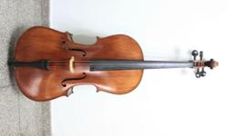 Full size cello for sale. Condition is very good 9/10.