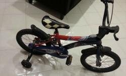 "Used Children 16"" Bicycle for sale. Condition 8/10 with"