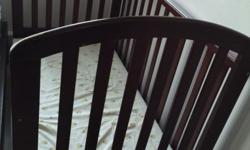 Used crib for sale with mattress (not to be used for
