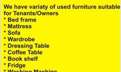 To All Tenant/Owner/Housing Agents  We have range of