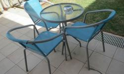 Used garden tables and chairs for SALE! Moving house.