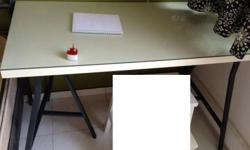 Study desk, 2 sets 1. short set - size of the table