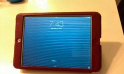 Its a barely used iPad Mini 16GB wifi only model for