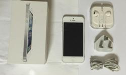 Used Iphone 5 White 32GB Complete Set Price