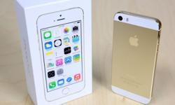 Used iPhone 5S Gold 64GB on sale. There are some minor