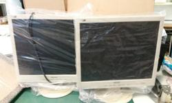 "Office clearance used monitors 17"" monitors S$30 each"