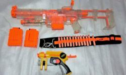 ~~~USED NERF TOY RiFLe & PiToL SeT OnLy $60 ~~~ One set