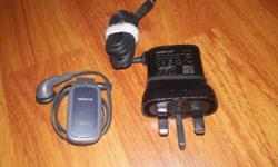 Good condition Nokia Bluetooth with original charger