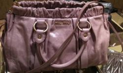 Well kept and gently used non authentic miumiu bag, 1:1