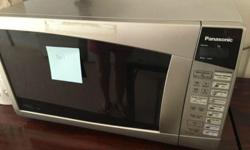 Used Panasonic Microwave Oven at Open House Sale Moving