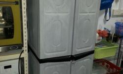 Used plastic cabinet. Self collect.