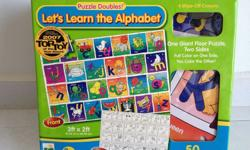 Let's Learn the Alphabet Puzzle Doubles by The Learning