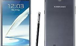 hello selling Used Samsung Galaxy Note2 3month old only