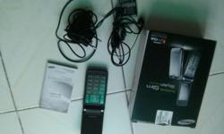 (SOLD) Used Samsung S3600i for sale. Complete with