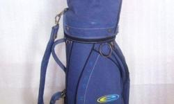~~~ USED SMaLL EFiL NyLoN Golf Bag $18 ~~~ One piece