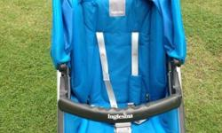 USED* stroller inglesina model is Avio, Blue in colour