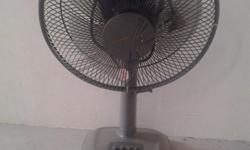 Used mitsubishi table fan, working condition, cosmetic