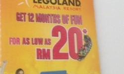 Hurry up! Only 55$ USS Tickets! Including legoland
