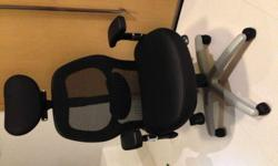 The black office chair from V.hive 99% new. Used less