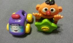 Various Baby Toys range from $2 to $5. All are in good