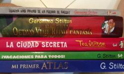 Geronimo Stilton, Dora and lots more Hard cover books