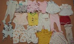 Very good condition Baby girl clothes 6-15months Some