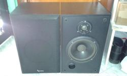 HEAVY SOLID BUILT QUALITY INFINITY BOOKSHELF SPEAKERS,